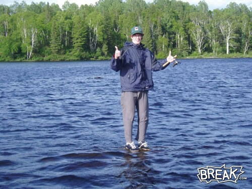 jesus fishing. Jesus reincarnated, and he